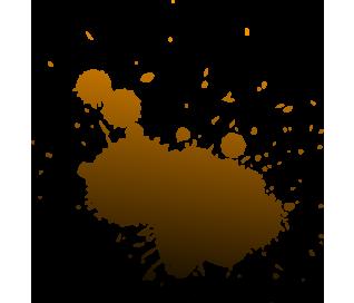 Farb Splash Braun