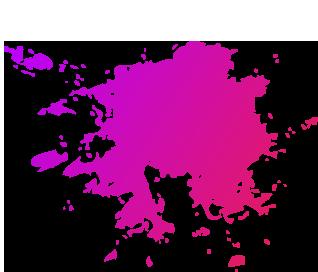 Farb Splash Pink
